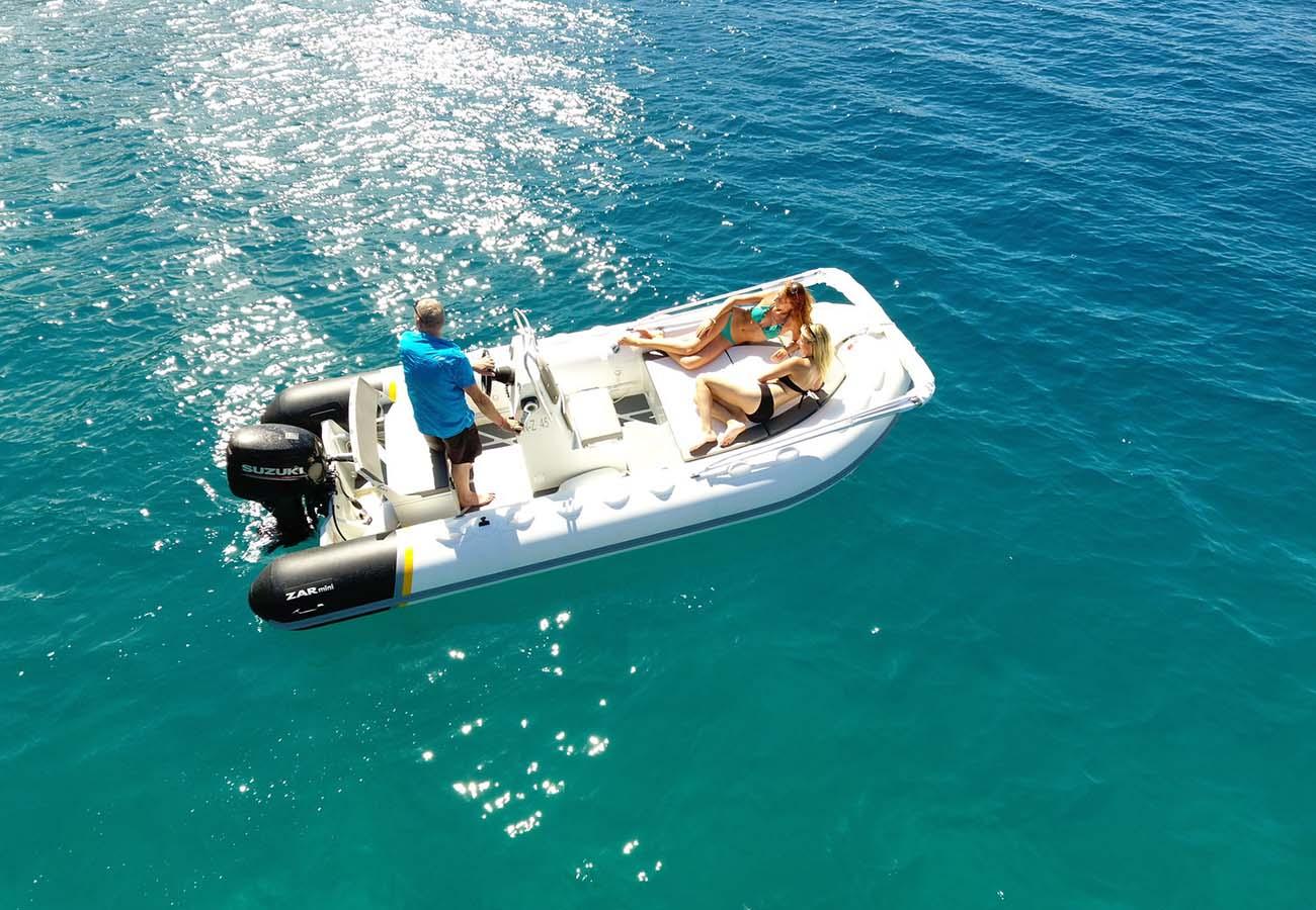 location bateau Zar Mini Rib 16SC