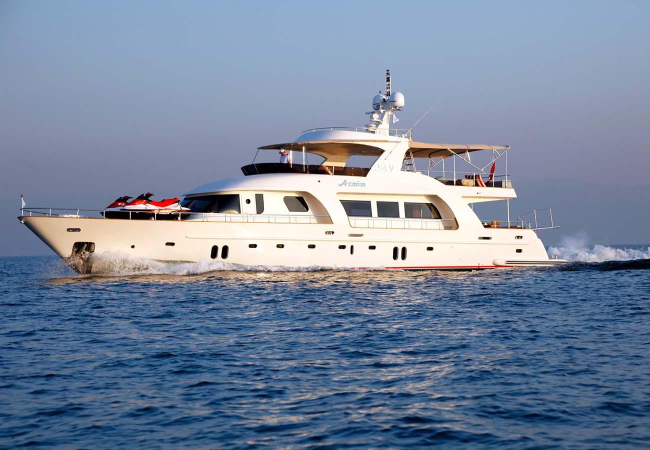 location bateau Azmim
