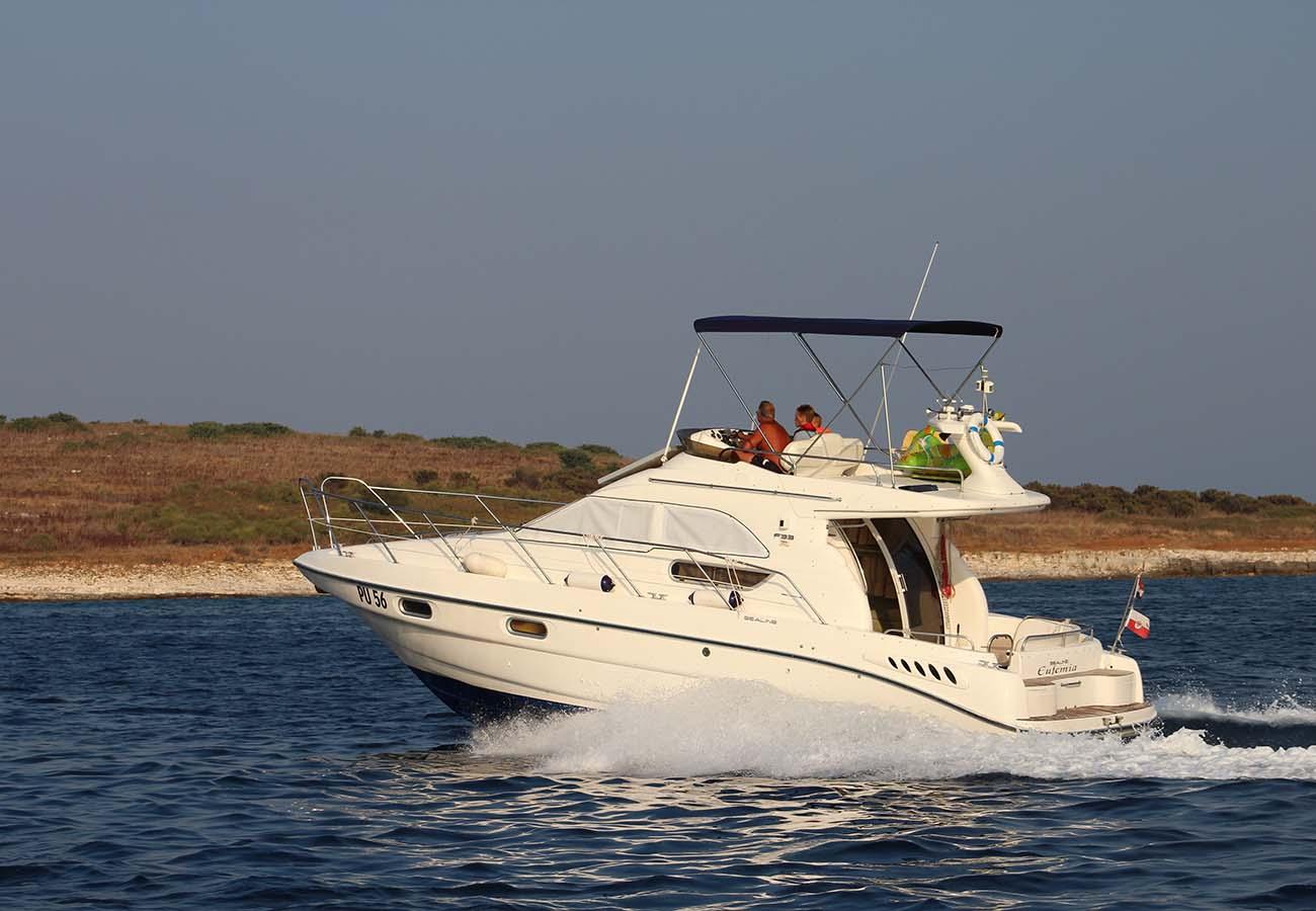 location bateau Sealine F33 Fly