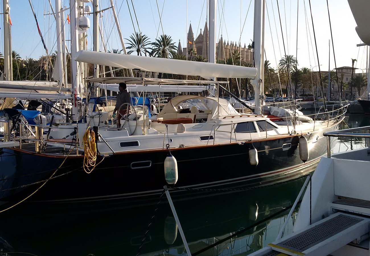 location bateau Dixon Yacht 63