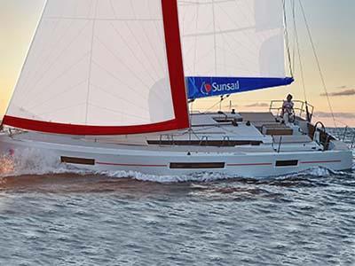 location bateau Sunsail Sun Odyssey 440