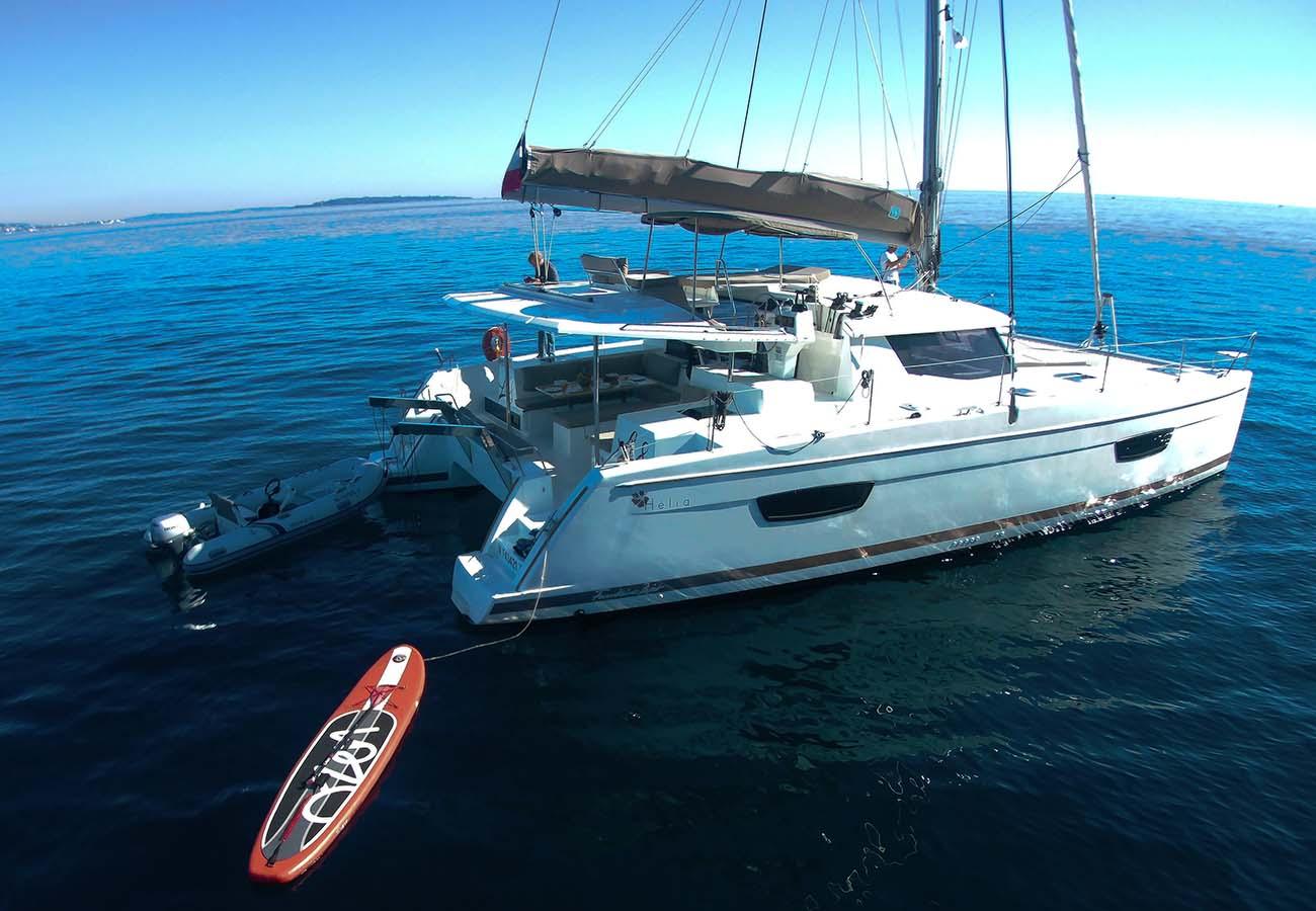 location bateau Helia 44 Evolution