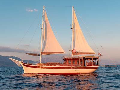 location bateau Slano