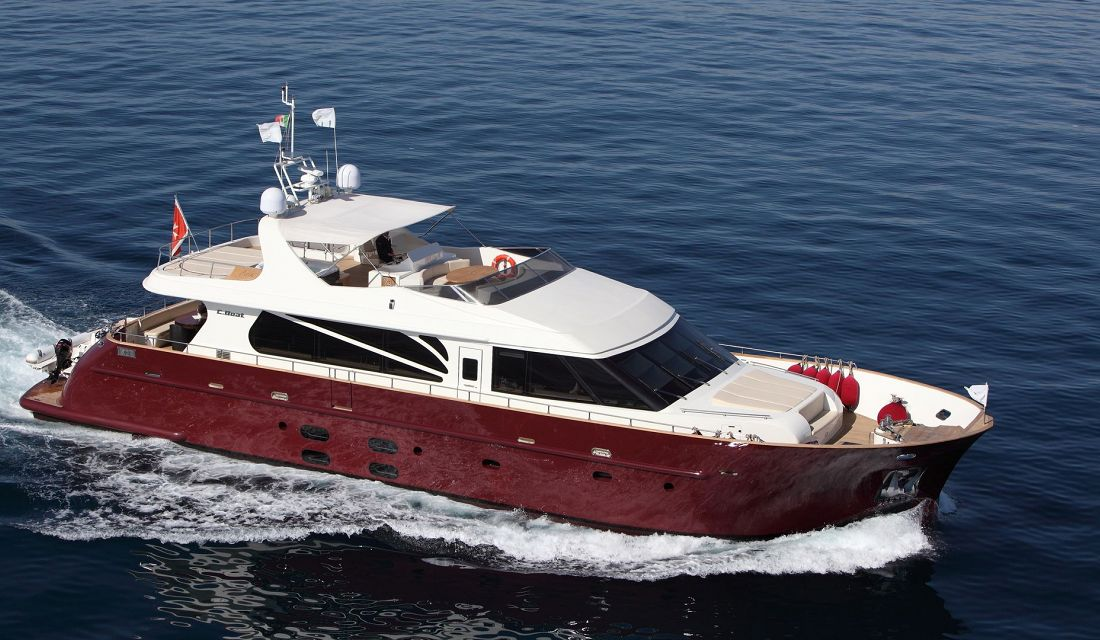 location bateau Aria