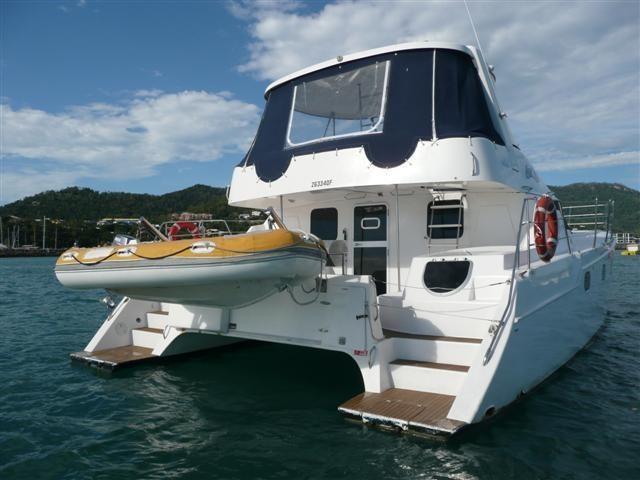location bateau Conquest 44