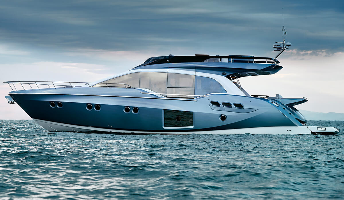 location bateau Sessa Fly 68