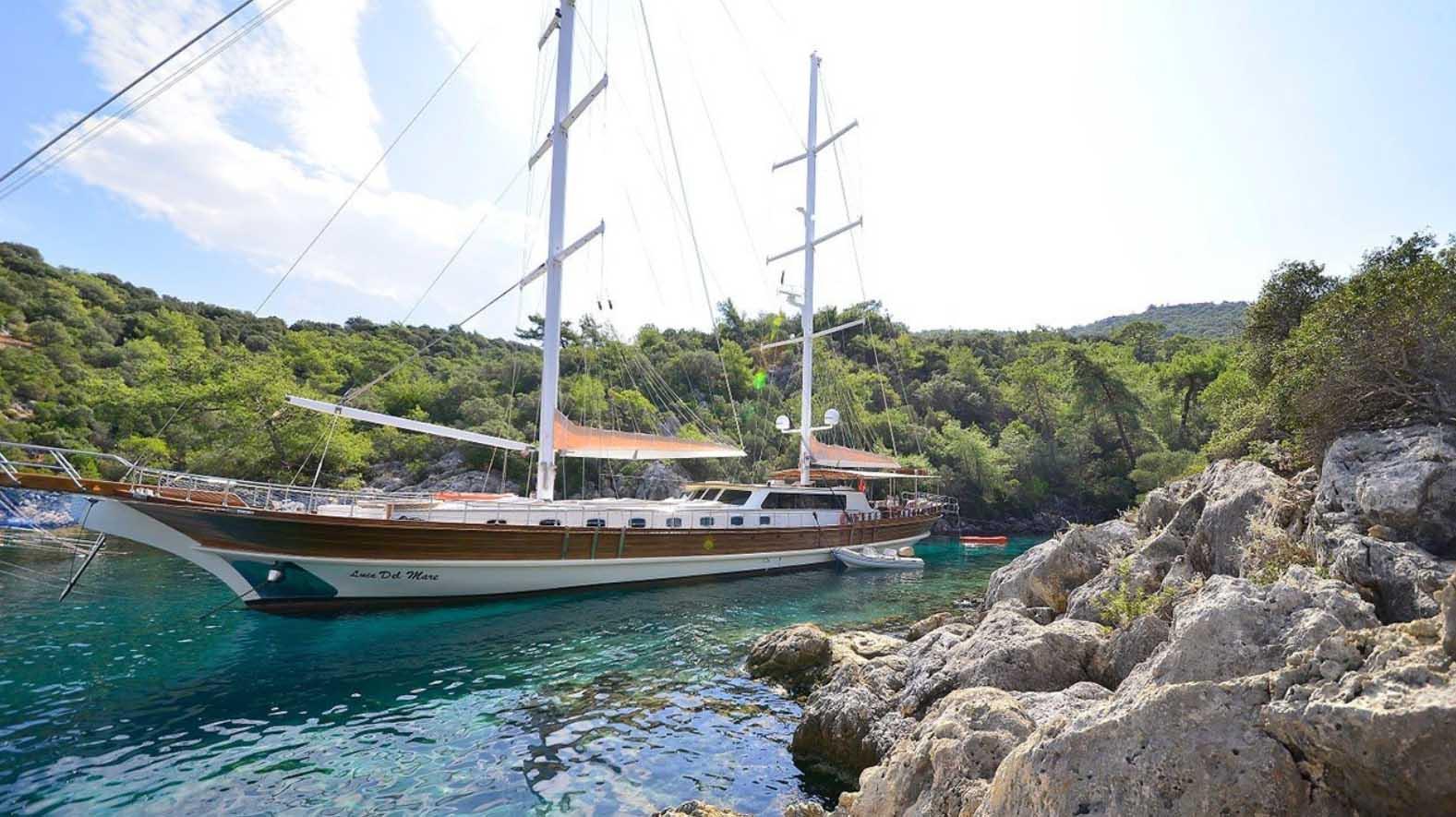 location bateau Luce Del Mare