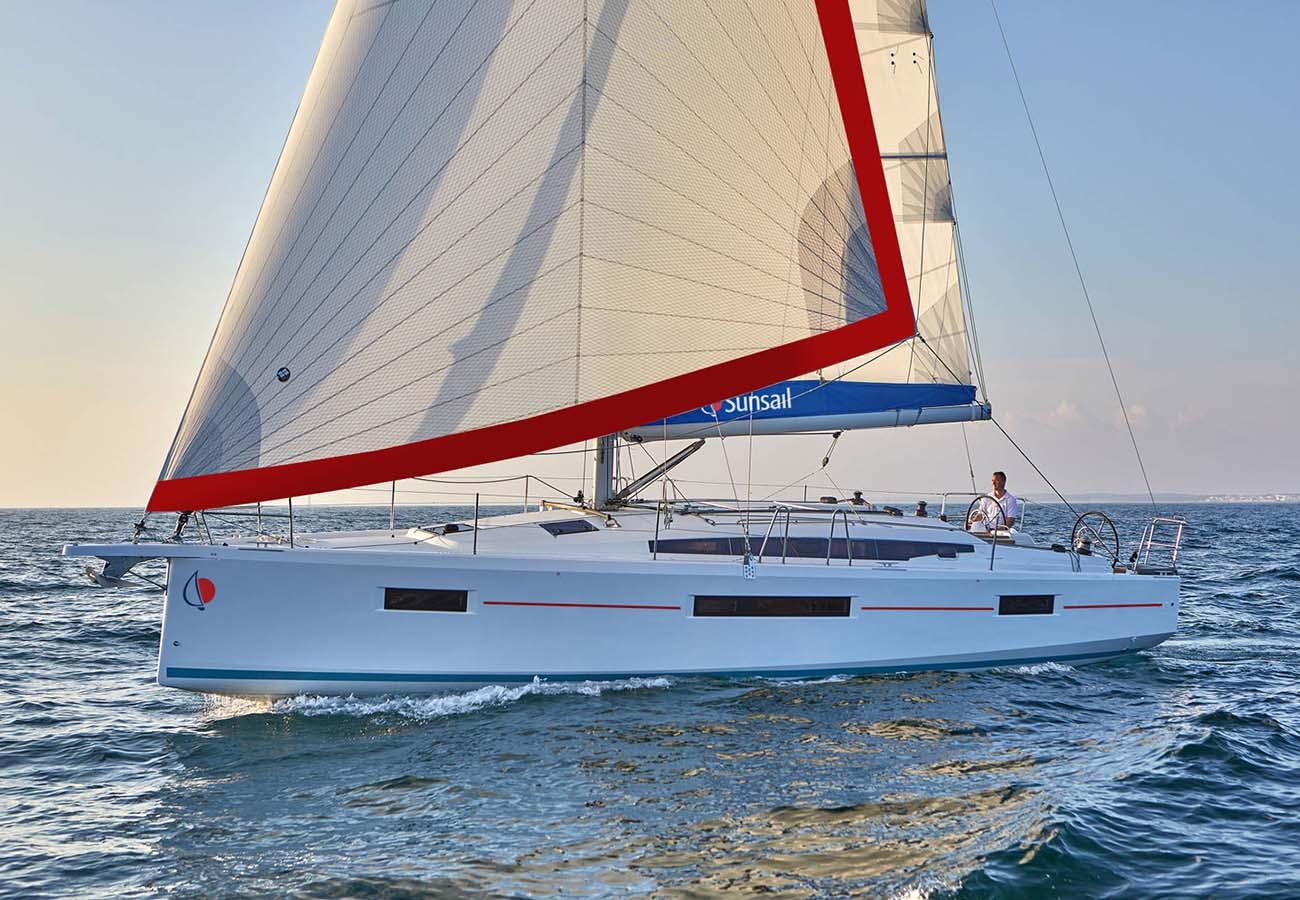 location bateau Sunsail Sun Odyssey 410