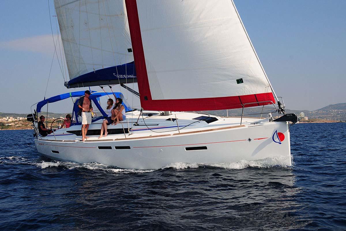 location bateau Sunsail Sun Odyssey 419