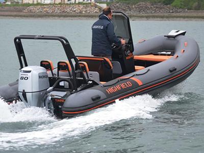 location bateau Highfield OM 540