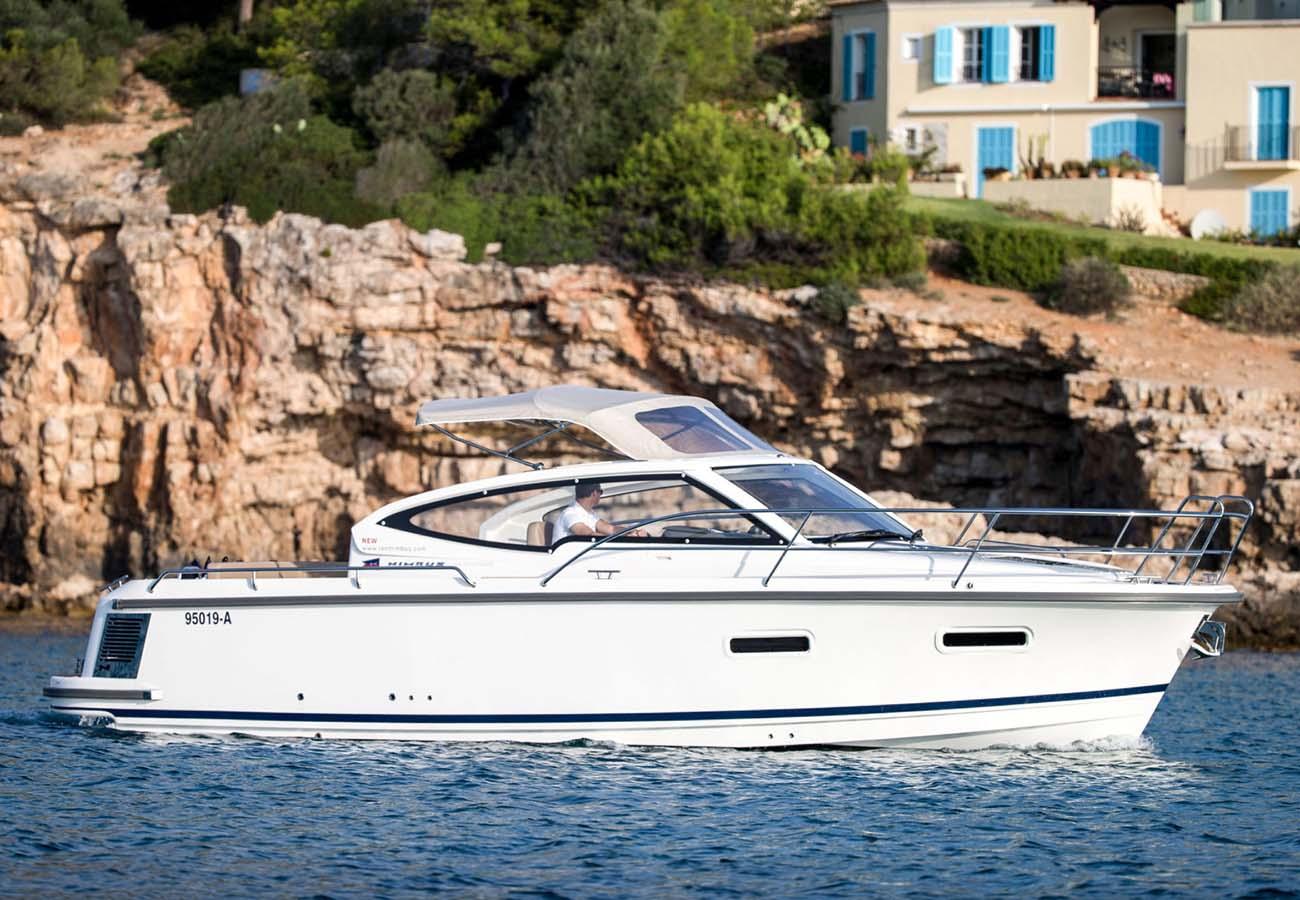 location bateau Nimbus 305 Drophead