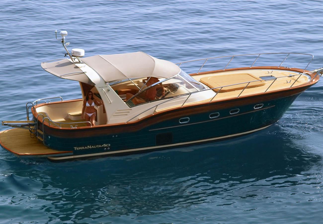 location bateau Terra Nauta 40