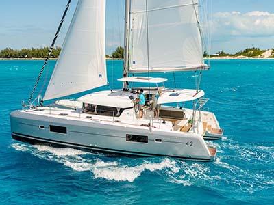location bateau Sunsail Lagoon 42