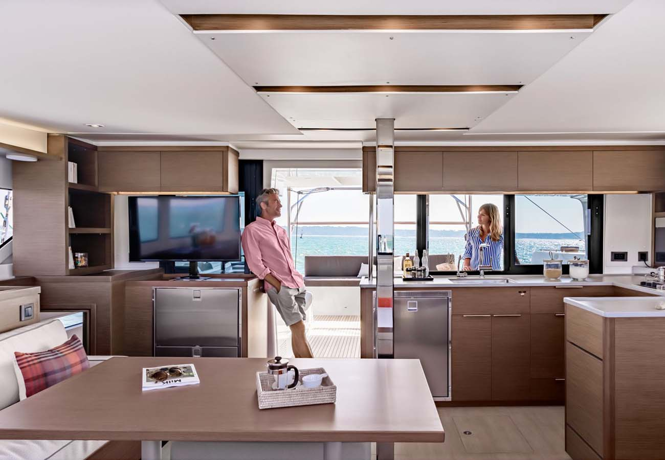 interno Sunsail Lagoon 46