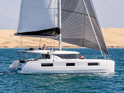 location bateau Sunsail Lagoon 46