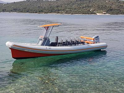 location bateau Colnago 27