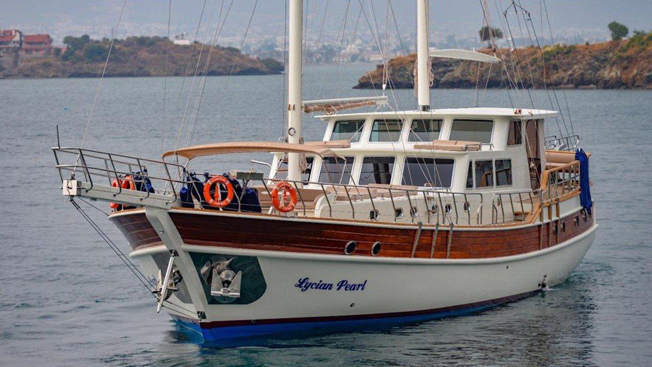 location bateau Lycian Pearl