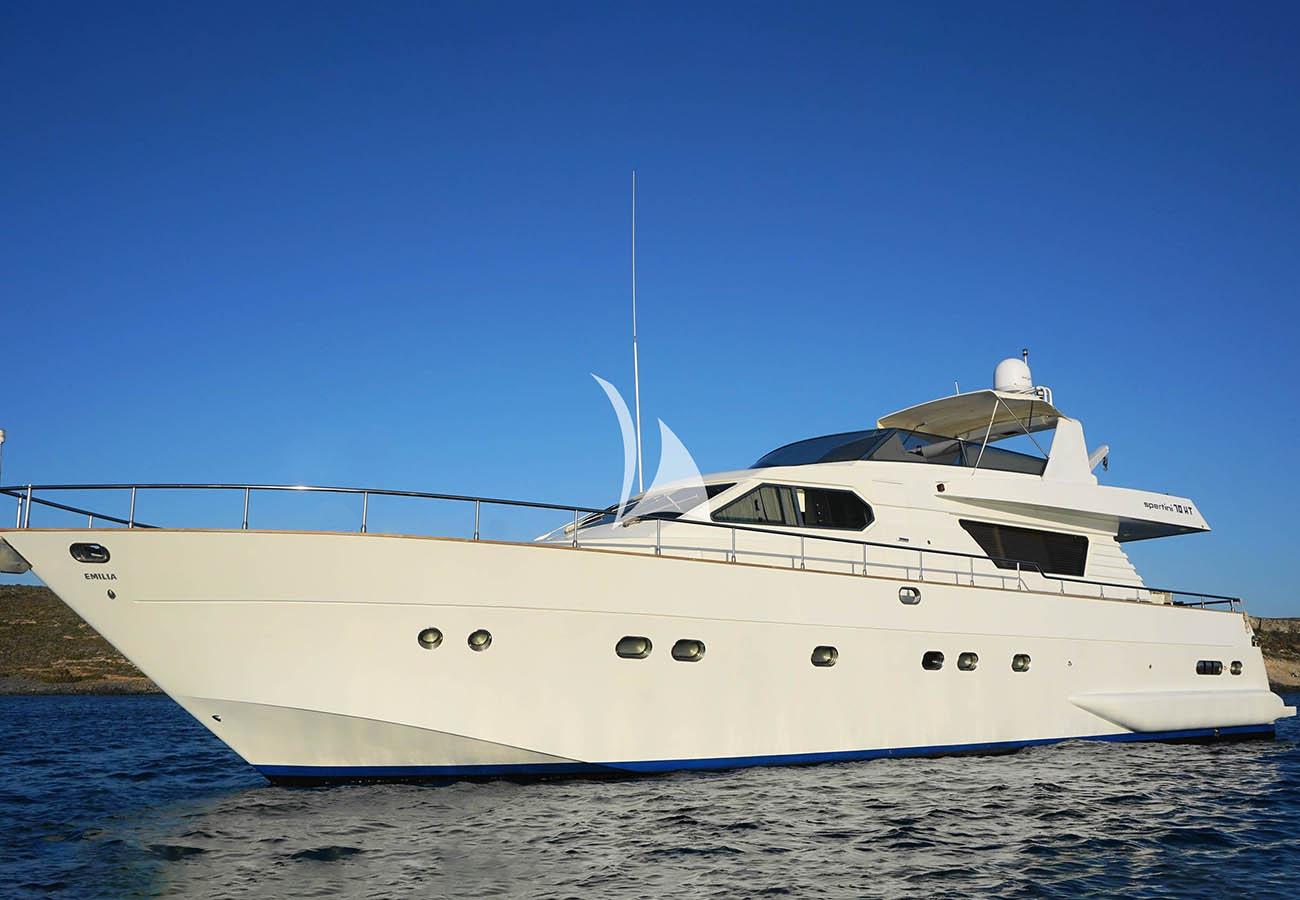 location bateau Alalunga 70