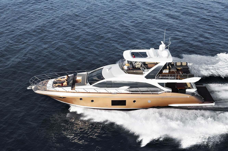 location bateau Azimut 66