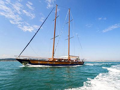 location bateau Lady Q