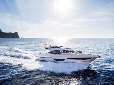 location bateau Princess S65