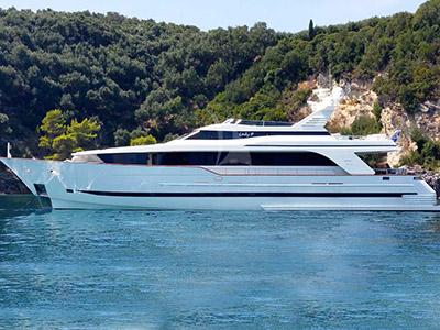 location bateau Lady P