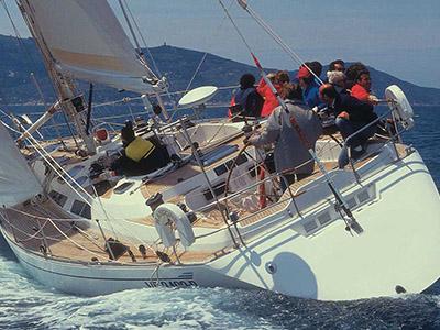 location bateau Baltic 58