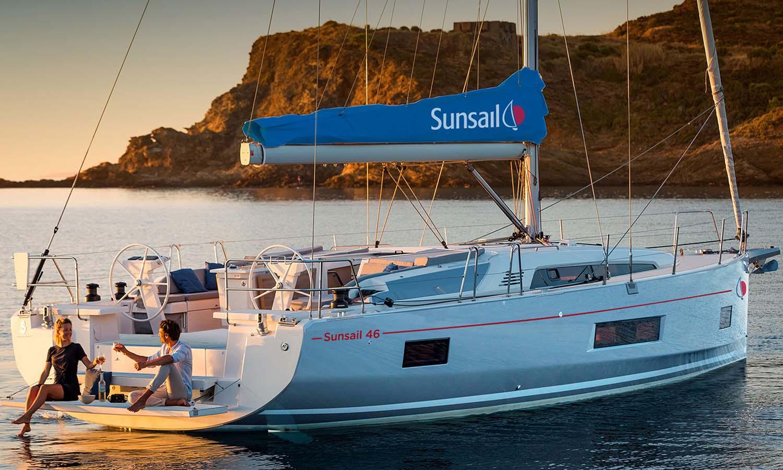 location bateau Sunsail Oceanis 46.1