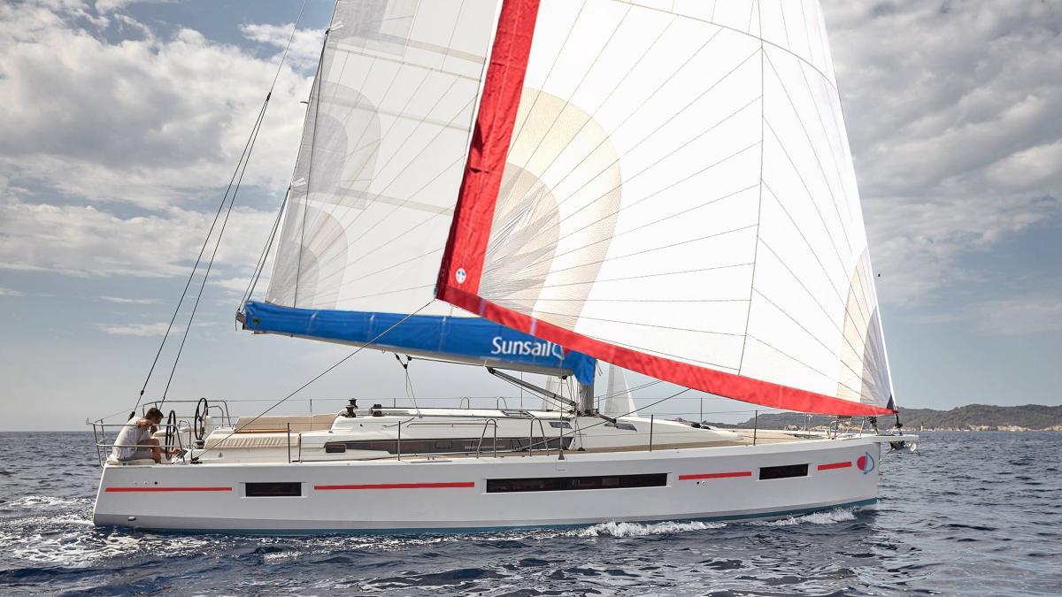 location bateau Sunsail Sun Odyssey 490