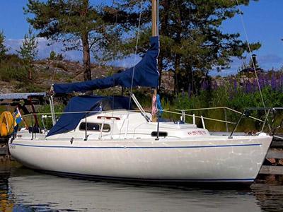 location bateau Viggen 23