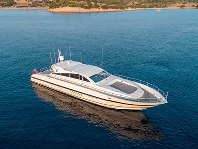 location bateau Leopard Arno 89