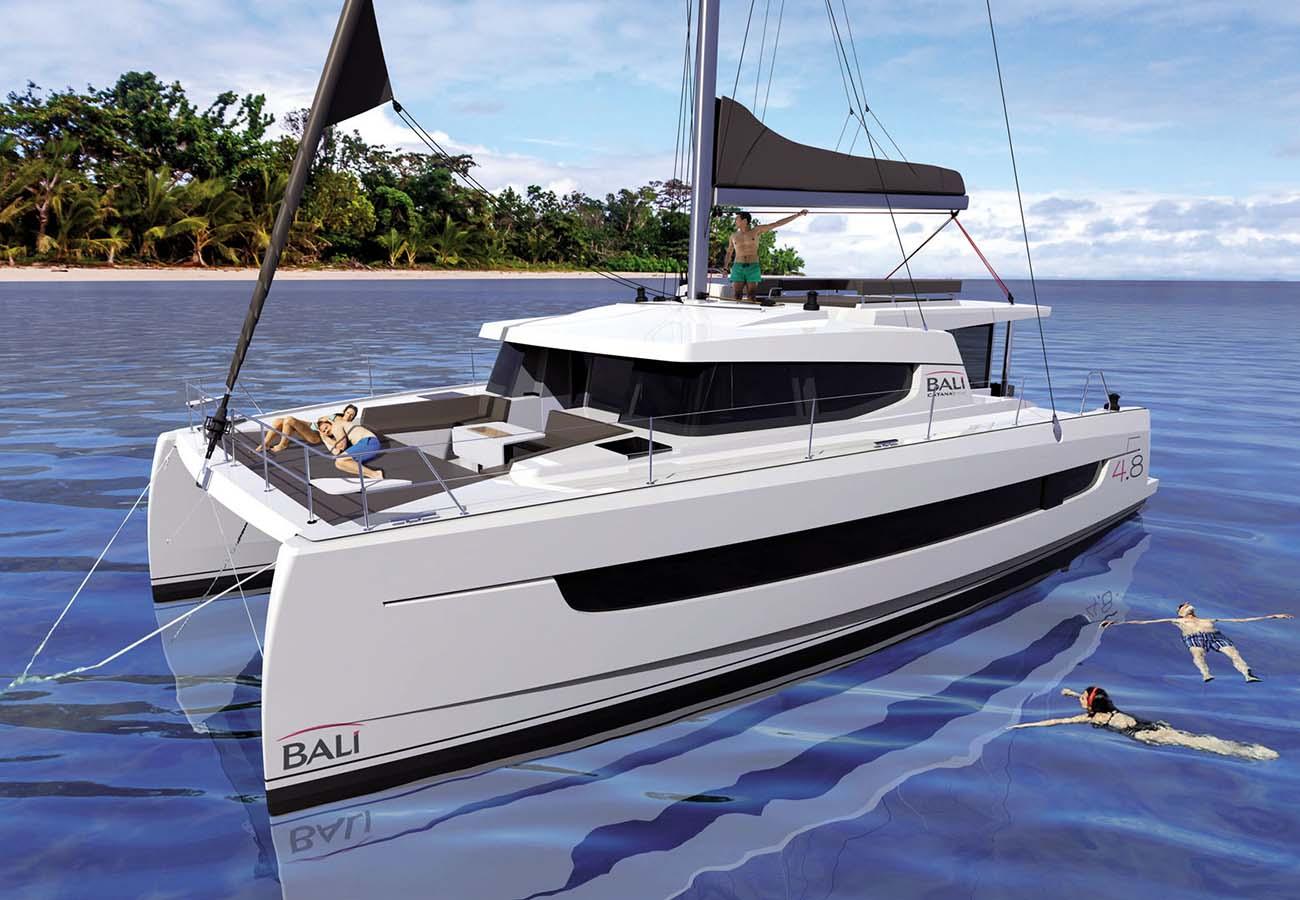 location bateau Bali 4.8