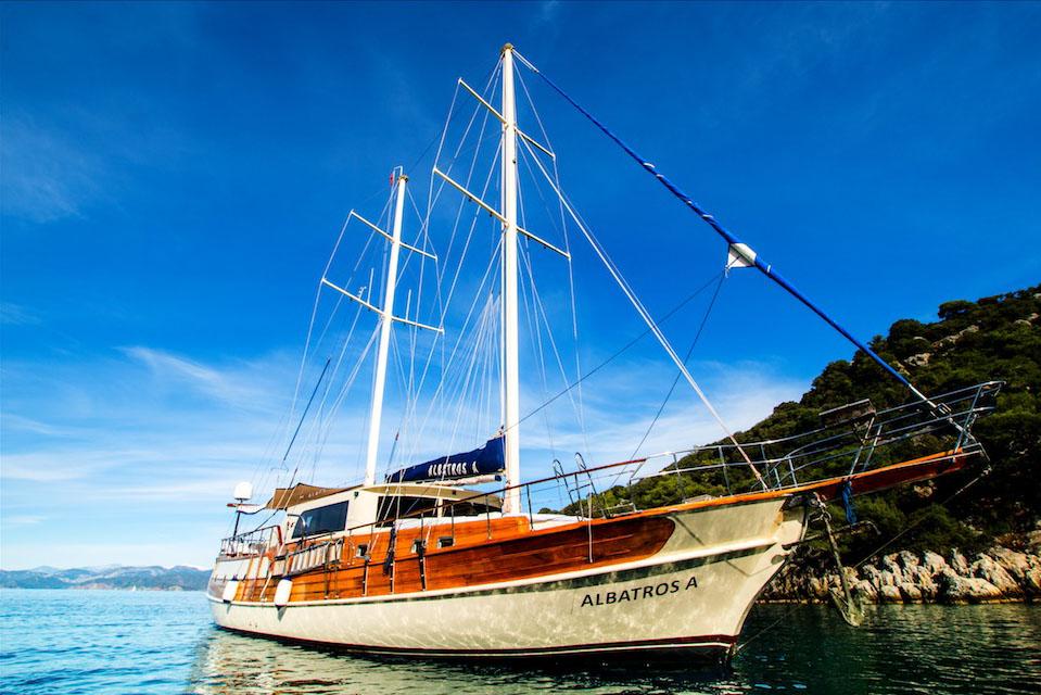 location bateau Albatros A