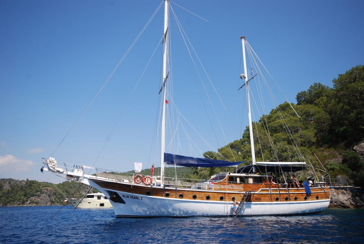 location bateau Blue Pearl 2