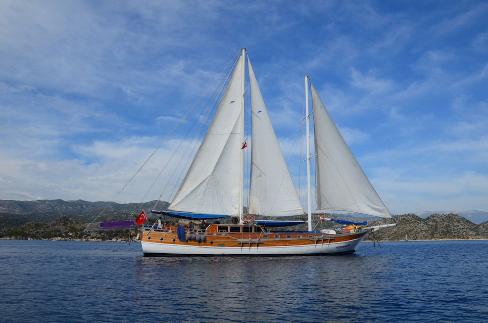 location bateau Northwind