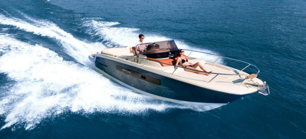 location bateau Invictus 280 CX