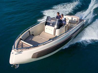 location bateau Invictus 280 TT