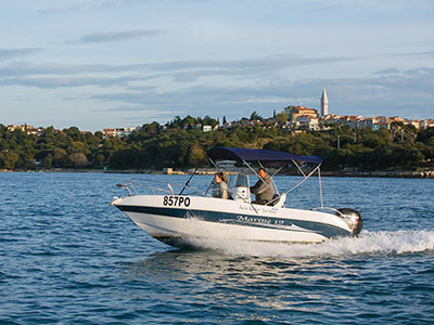 location bateau Marine 19