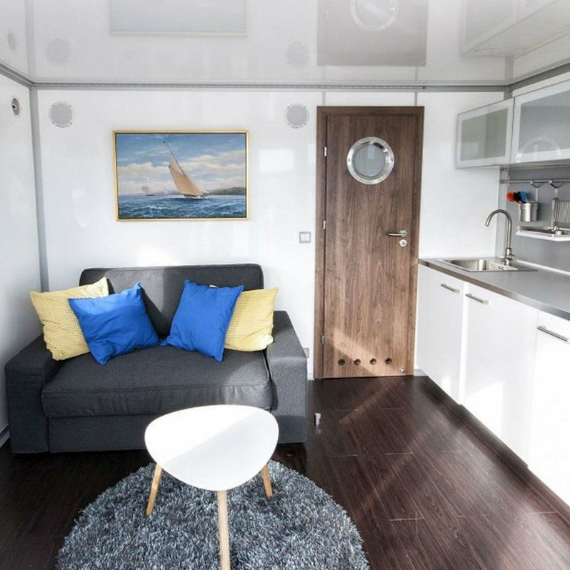 interno Houseboat Spa 24 m2