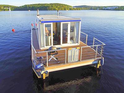 location bateau Houseboat Spa 24 m2