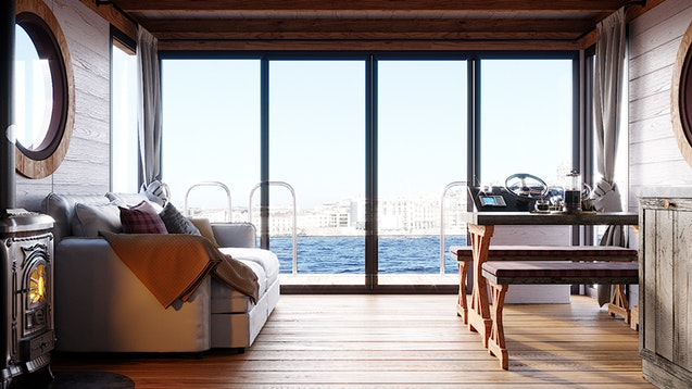 esterno Eco-Wood 36 m2