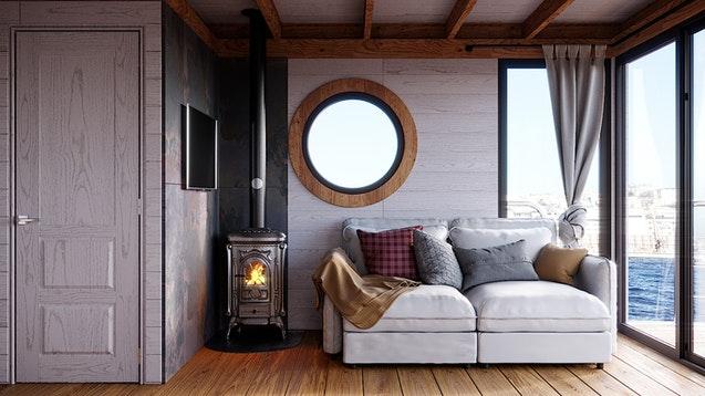 inside Eco-Wood 36 m2