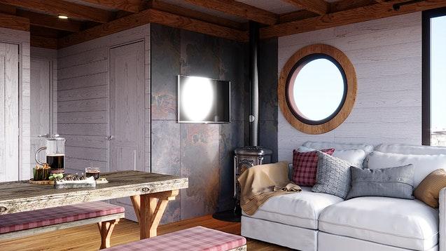 interno Eco-Wood 36 m2