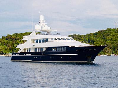 location bateau Lady Azul