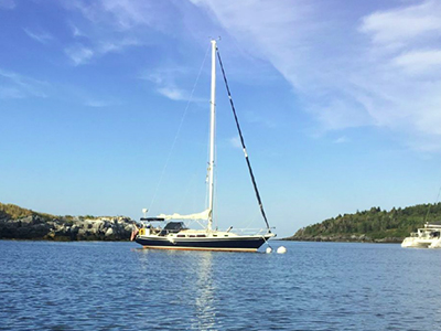location bateau Ericson 38