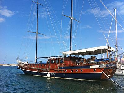 location bateau Kaptan Yilmaz II