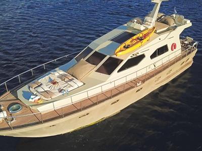 location bateau Maiora 58 Fly