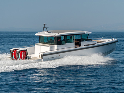 location bateau Axopar 37 C