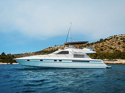 location bateau Fairline 59
