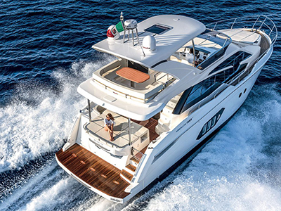 location bateau Absolute 50 Fly